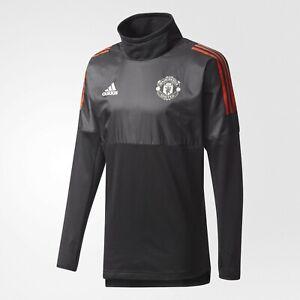 Adidas Manchester United Hybrid Top - Black / Red XXL