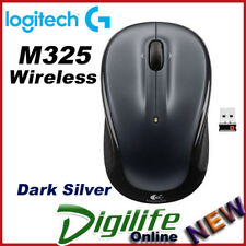 Logitech M325 Wireless Laptop Notebook Mouse - Dark Silver
