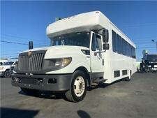 2013 International 32 Passenger Bus 6.4 Turbo Diesel Shuttle Limo Rv Church Carg