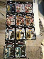 Star Wars VC Vintage Collection figures MOC New Luke, Range Trooper, Aphra Enfys