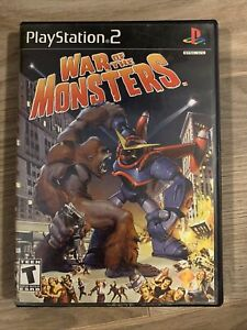 War of the Monsters (Sony PlayStation 2, 2003) Complete