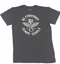 $140 Polo Ralph Lauren Men Gray Wings Logo Brand Crew Neck Fit T Shirt Tee M