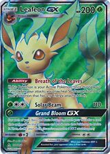 Leafeon GX 139/156 Full Art Ultra Rare Pokemon Sun & Moon Ultra Prism Card