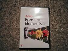 Adobe Premiere Elements 3.0 software disco di Windows XP