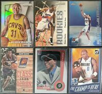 Lot of (6) Shawn Marion, Including 2014 Prizm silver, Topps Chrome RC & inserts