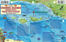 Channel Islands National Park Map & Kelp Forest Creatures Waterproof Fish Card