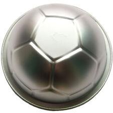 3D Soccer Ball Cake Tin Aluminum Mould Baking Pan for Fondant Sugarcraft 9.3inch