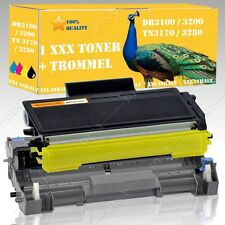 Drum & 1x TONER COMPATIBILE CON BROTHER hl-5270dn 2 LT tn3170 dr3100 qx25