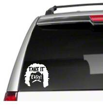 "Take it Easy 5.5"" Car Vinyl Sticker Decal nacho libre jack black funny movie *I4"