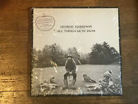 George Harrison 3 LP in Shrink w/ Hype - All Things Must Pass - + Poster - Apple