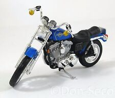 Maisto Harley-Davidson 1200 Sportster Evolution Motorrad blau 1:18