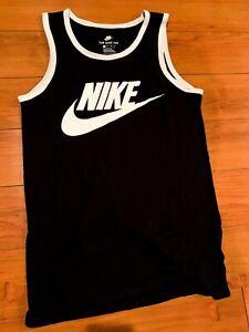 Nike Men's Tank Top Athletic Black/White 779234-011 SIZE X-SMALL, US SELLER!!