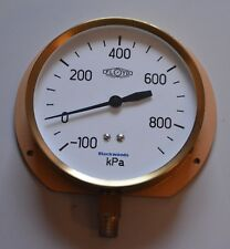 FLOYD pressure/vacuum gauge  -100 to 900 kPa large face