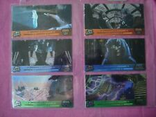 Star Wars Trilogy Comp Story X6 Widescreen Laser Cut chase cards Topps 1997 VG