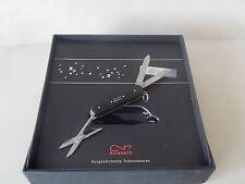 RICHARTZ Black Diamond mini Taschenmesser m. Swarowski Kristallen ca.5 cm
