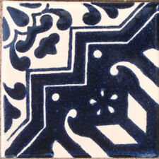 #C072) Mexican Tile sample Ceramic Handmade 4x4 inch, GET MANY AS YOU NEED !!