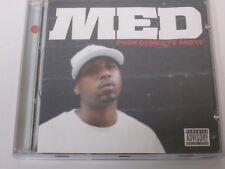 Push Comes To Shove Explicit By Med On Audio CD Album Rap & Hip-Hop 2005