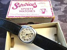 MENS VINTAGE , BOXED SERVICES- AERIST, MECHANICAL WATCH,,,,,, TICKING-RARE