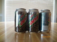 "2015 Diet Mt. Dew ""Lost Camo"" 12 oz. Ltd. Edition Camo Can...bottom opened"