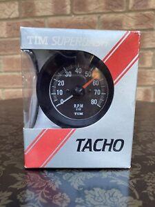 Classic Car Mini Etc Rev Counter Pod Tim Superdash Tacho Meter 1980's Japan