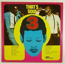"""12"""" LP - Various - That's Soul 3 - B1032 - washed & cleaned"""