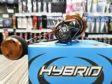 MAXEL HYBRID HY20C reel high speed for slow pitch jigging (RH) Brown