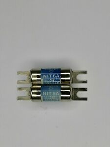 Lawson 415v 6A 80kA NIT6A Lugged Cartridge Fuse Link, Industrial Commercial
