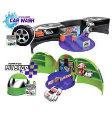 Micro Wheels Pit Stop And Car Wash Mini Motorized Car Set