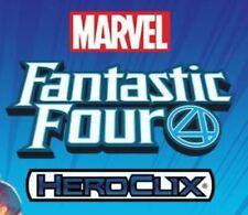 Heroclix Marvel Fantastic Four 35 Figure CUR Set Lot Common Uncommon Rare