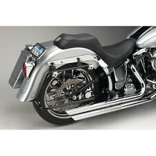 Cycle Visions Black Bagger-Tail Bag Mount for 1986-2007 Harley Softail Models