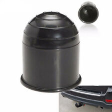 50mm Black Plastic Tow Bar Ball Plastic Cover Car Towing Hitch Towball Protector