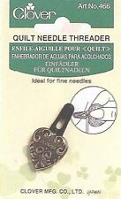 Clover Quilter's Notions Needle Threader, Antique Look