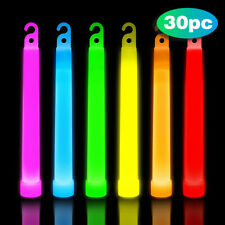 30 Pcs Glow Sticks In Dark Party Supplies For Children's Adult Party Glow Sticks