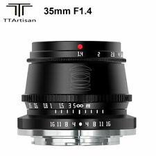 TTArtisan 35mm F1.4 APS-C Manual EF-M Lens for Canon EOS M M1 M2 M3 M6 M6II M10