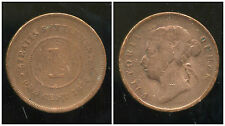 INDE ( STRAITS SETTLEMENTS ) british colony   1 one cent 1874