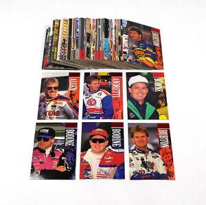 1995 Press Pass NASCAR Racing Card Set (145)