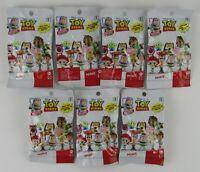 Lot Of 7 Disney Pixar Toy Story Minis Series 5 Mini Figure Sealed Blind Bags
