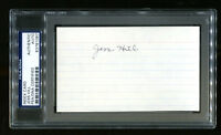 Jess Hill Signed Index Card 3x5 Autographed USC Trojans PSA/DNA 83781087
