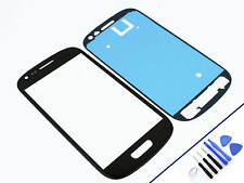 Vetro FRONTALE per SAMSUNG Galaxy S3 MINI NERO vetro Display Touchscreen