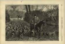 1876 Foxhunting 10 Miles From The Kennel Drawn By Sheldon Williams