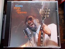 THE BLUES SOUL OF JAY OWENS - 1992 INDIGO/TOPIC CD - PRODUCED BY MIKE VERNON