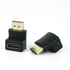 2x hot Angled hdmi Cable Adapter Male to Female Connector 270 90 Degree HDTV@xu