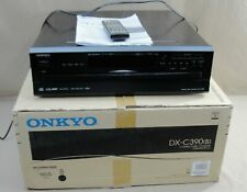 New listing Onkyo Dx-C390 6-Disc Cd Compact Disc Changer Player Audiophile W/Remote And Box