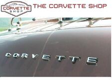 C3 Corvette Rear Bumper Letters Emblem C O R V E T T E 1974-1975 x2617