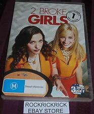 2 BROKE GIRLS - THE COMPLETE FIRST SEASON DVD (3 DISC SET) REGION 4