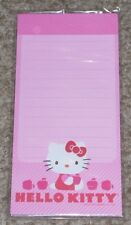 NOS New 2012 Sanrio Hello Kitty Officially Licensed Horizon Magnetic List Pad