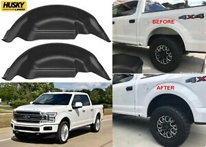 Husky Liners 79121 Black Rear Wheel Well Guards For 2015-2020 Ford F150 New USA