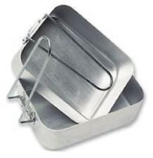 HIGHLANDER CS016 ALUMINIUM MESS TIN 2PC SET