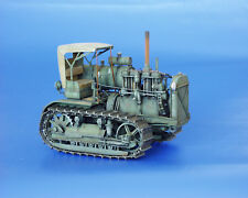 PLUS MODEL #063 Soviet Caterpillar Tractor Stalinets S-60 Resin Kit in 1:35