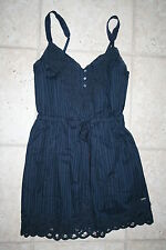 NWT Abercrombie Girls XL 14/16 Navy Strap Dress